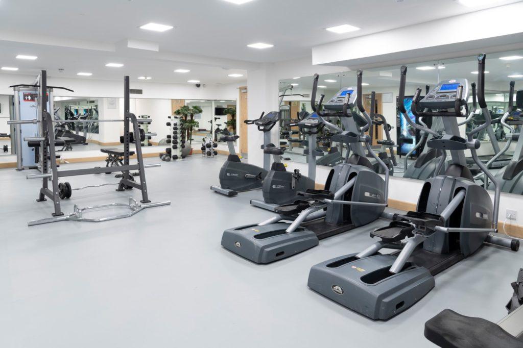 Gym refurbished